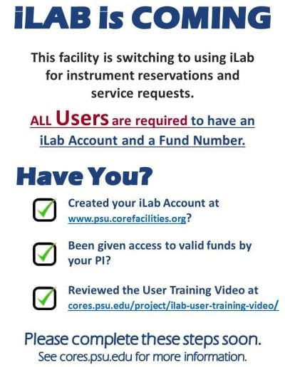 iLab is Coming Signs-USER