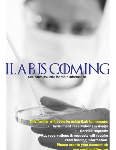 iLab is Coming Sign1